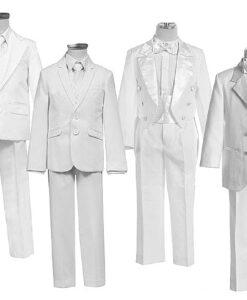 Fehér öltöny