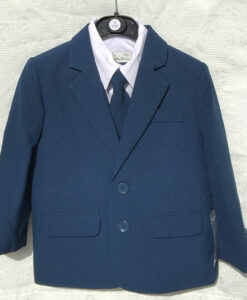 divatos kék gyerek  kamasz öltöny