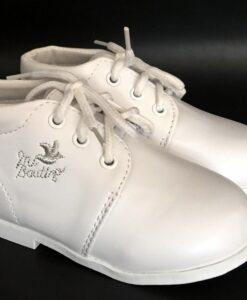 ezüstszálas keresztelő cipő